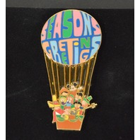Disney It's A Small World Dolls,Mickey Mouse Hot air balloon Pin