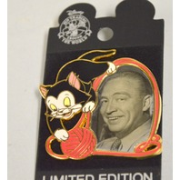 Disney LE250 Pin #96048 Eric Larson & Figaro Proof Series Pin