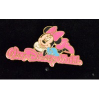 Disney Pin - Minnie Mouse laying on the Walt Disney World Sign LE 1 - #DP00621