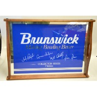 Brunswick Collector Series 1st Edition Mirrored Tray signed.