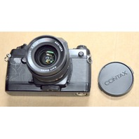 Contax 137 MD Quartz SN 013206 with Carl Zeiss Lens Distagon 2.8/28T*SN 6621653