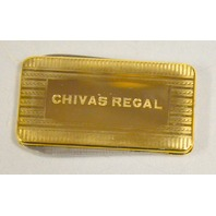 Chivas Regal 2 blade pocket knife Money Clip