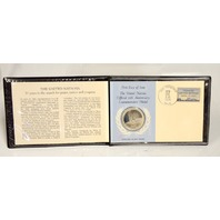 The United Nations 25th Anniversary Commemorative Medal and First Day Cover Stamp