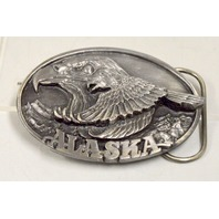 Vintage Alaska Bald Eagle Belt Buckle- #JH192