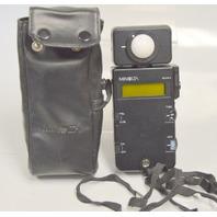 Minolta Flash Meter III with Case. Ambient/Flash.