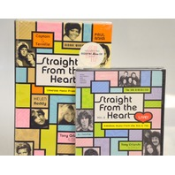 3 Pc Set of Music Straight From the Heart, Vol.1 & 2 + 4 pc disc set and booklet.