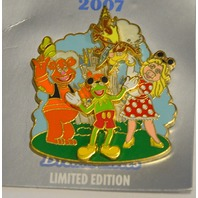 Disney Where Dreams HapPin  - Kermit the Mouse and Friends LE Pin