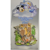 Where Dreams HapPin - Goofy of the George of the Jungle Event LE200 Pin