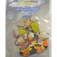 Disney Where Dreams HapPen Huey, Louie and Dewey Halloween Pin - LE