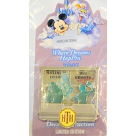 Disney Where Dreams HapPin - Tower of Hitchhiking Ghosts Pen - LE
