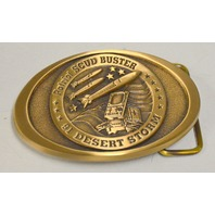 Patriot SCUD BUSTER 91 Desert Storm Belt Buckle - #081B
