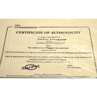 Raddedy Ann & Andy Cel from Little Chicken Adventure-w/Cert. of Authenticity