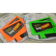 bag-tagger great for travel or identifiy your briefcase, sporting items, golf bag etc. 2 pks