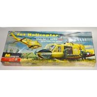 "Monogram 60""s - Jet Helicopter U.S. HU-1A Iroquois - NIB- Model Kit"