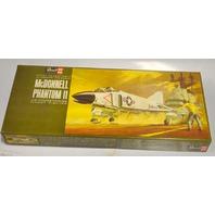 Vintage Revell McDonnell Phantom II  Fighter Airplane Model Kit - 1965