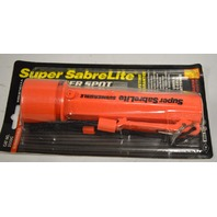 Pelican Super SabreLite Submersible 3 cell Spotlite Flashlight. - Orange