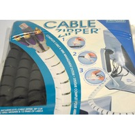 Cable Zipper - Cable Wrap Sleeve, Hook & Loop manage multiple wires into one