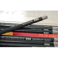 Eberhard Faber Microtomic - Vintage - Woodclinched - 2-H - 1 Doz Pencils