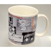 "Walt Disney Gallery ""Mickey Mouse Club Mug"" Pictures of Mouseketeers on it."