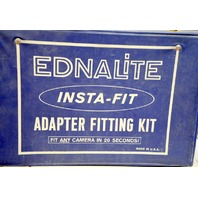 Vintage Ednalite Filter Adapter Ring Kit w/lots of Filter Adapter Rings