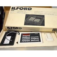 ILFORD DT600 Digital Darkroom Timer/Computer +2 packs of Programmable cards.