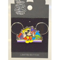 """Disney Pin - Mickey Mouse Ear Hat - """"Create, Appreciate,Share Together"""" Pin."""