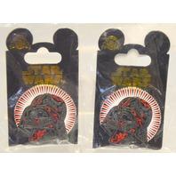 Disney Star Wars Darth Vader Pin  -  2 pins.