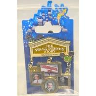 Disney Pin - 35 Magical Years 1973 - The Walt Disney Story Opens.