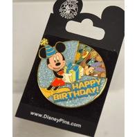 Disney Happy Birthday  - Mickey Spinner 2006 Pin.