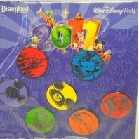 2011 Disney Park Icons Mini-Pins - collection of 7.