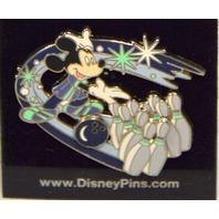 Disney Pin - Mickey Mouse Bowling - Ball and Pins Slider