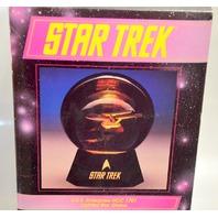 Star Trek #47051 U.S.S. Enterprise NCC 1701 Lighted Star Globe Haldome.