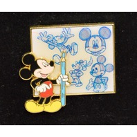 Character Sketch Series Mickey Mouse #509300 Holding his Pencil