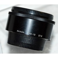 Nikon PK-13 27.5 Extension Ring with Nikon Caps