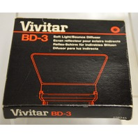 Vivitar BD-3 Soft Light/Bounce Diffuser #238245