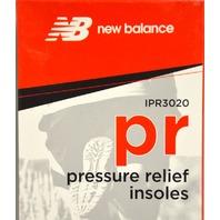 New Balance Men's Size 15 D, Pressure relief insoles - IPR3030