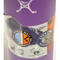Hydro Flask 24 oz Norrow Mouth - BPA free / 18.8 stainless steel Acai Purple