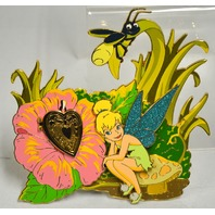 Disney Tinker Bell with Locket Super Jumbo Pin LE500-Peter Pan