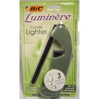 Bic Luminere Candle Lighter - 3 Position Wand - Olive Green