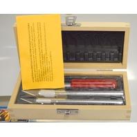 X-Acto X5082 13 Pc Basic Knife Set in Wood Case