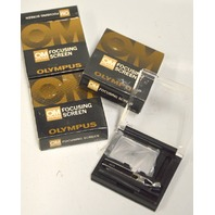 Olympus OM Focusing Screen - NIB - 3 pcs. Number 2, 11 and 13.