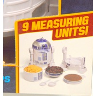 Star Wars R2-D2 Measuring Cups - 9 measuring units.