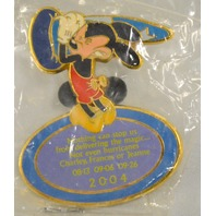 "Disney 204 ""Nothing can stop us from delivering the magic"" Pin"