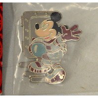 Disney Epcot Mickey in Earthday Ship and Mickey in his .Spacesuit - 2 pins - #2