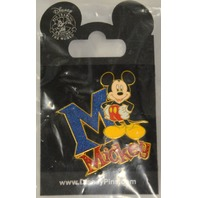 Disney Mickey Mouse Pin and Disneyland resort Paris Minnie Mouse Pin