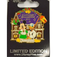 Disney Candlelight Processional Mickey and Donald Train Station LE Pin