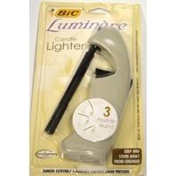 Bic Luminere Candle Lighter - 3 Position Wand - Beige