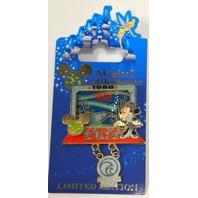 Disney Magical Milestones 1986 The Living Seas Opens LE Dangle Pin #48579