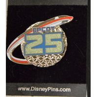 3 Disney Pins: Epcot 25, MIssion Space LE, 2012 Tinker Bell Castle. 67272