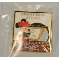 Disney Pin LE1400 - It all started with Walt...Disney Bros. Studio, Mickey drawing.